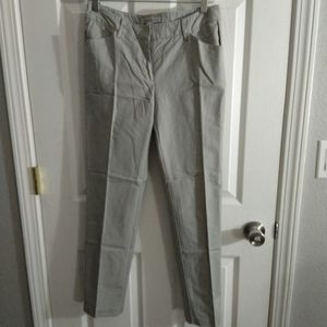Kenneth Cole grey straight pants size 4